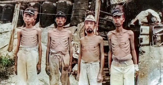 抗战末期,日本人已经饿得受不了!