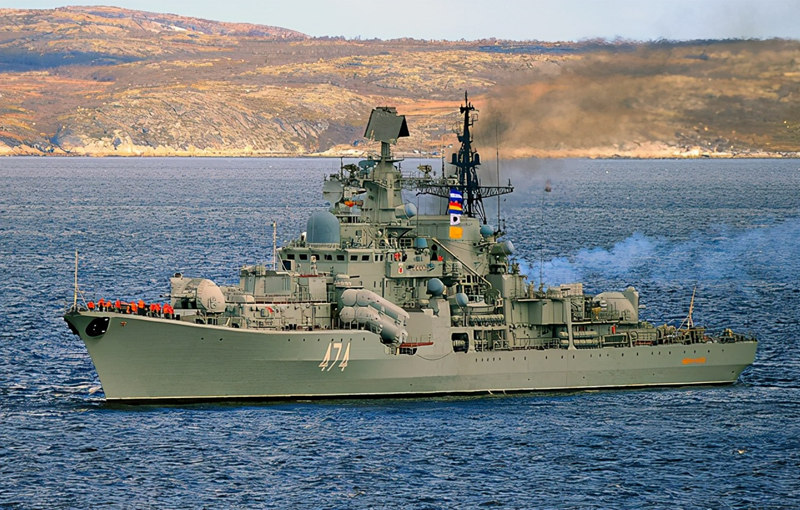 """中国海军的现代级变身""""准航母杀手"""",俄罗斯会不会有样学样?"""