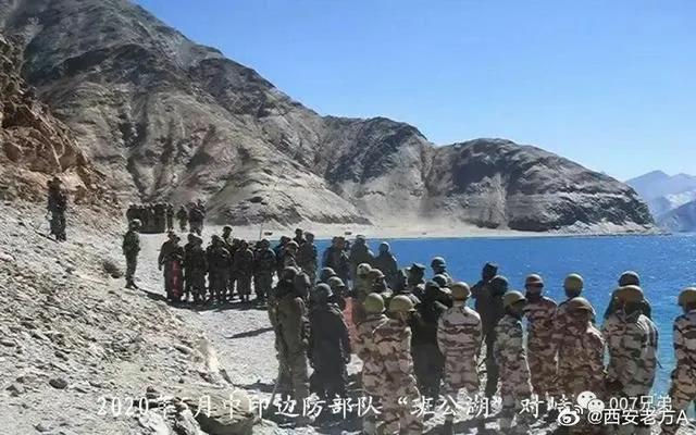 """中印""""海军""""对决班公湖?我边防部队将要面对印度三军精锐"""