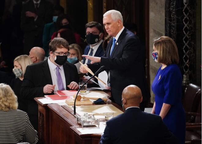 彭斯拒绝以宪法修正案罢免特朗普 将不会屈服于众议院要求
