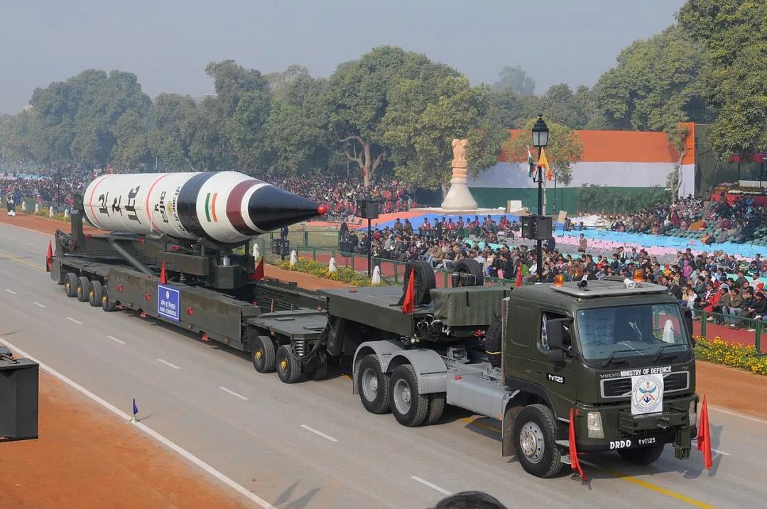警惕!印度烈火5洲际导弹今年实战部署,射程5500公里威胁大
