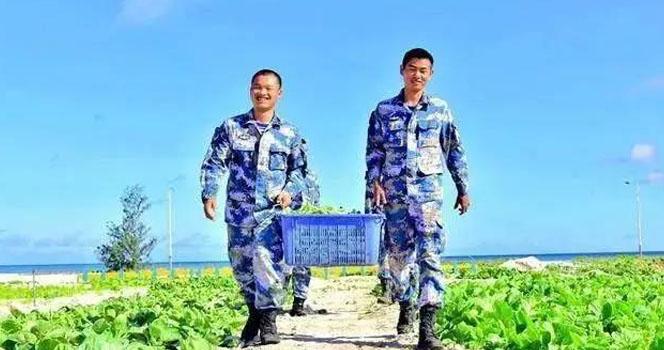 """为啥中国军人爱种菜?因为我们才是""""战斗民族"""""""