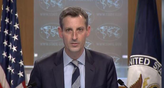 """美国国务院发言人:""""一中政策""""不变 支持和平解决海峡两岸议题"""