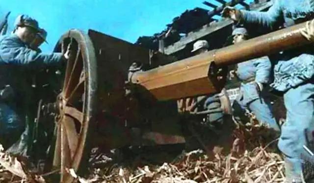 抗战中如何缴获大炮?精锐突击队夜袭日军,夺得一门75山炮