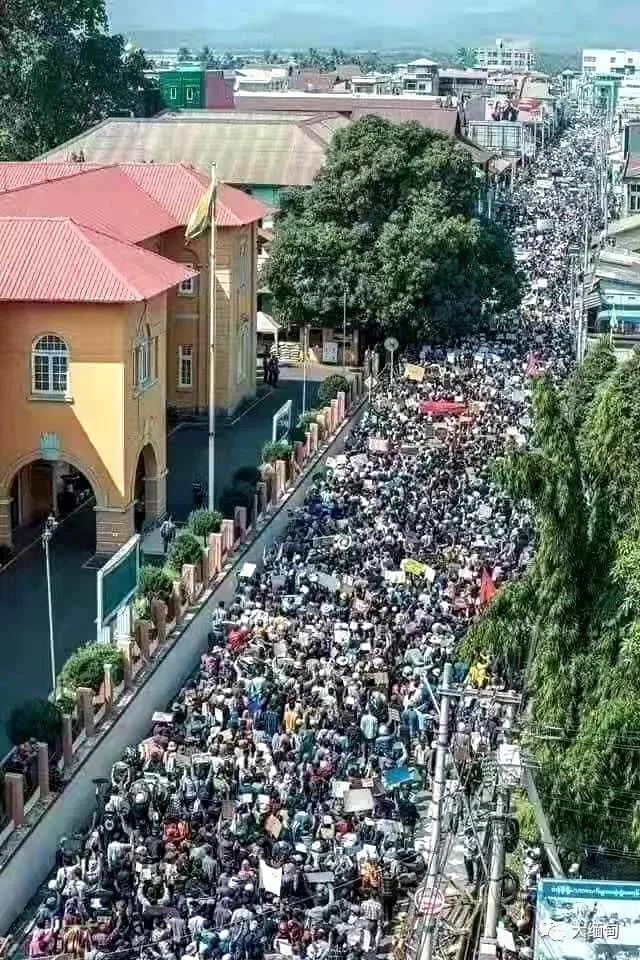 緬甸數十萬人大遊行!中國這一招應對很高明