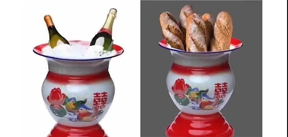 中国痰盂放面包,该怎么看这种误会?