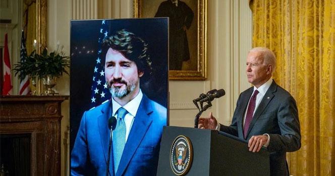 加拿大很尴尬,拜登嘴瓢了三次!还都与中国有关