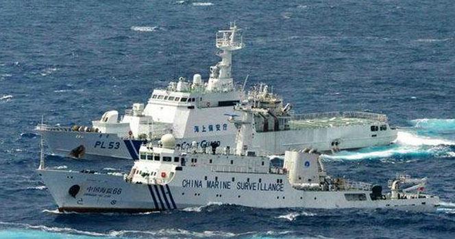 """可对中国海警船""""危害射击""""?日本政府释放两重大信号?!"""