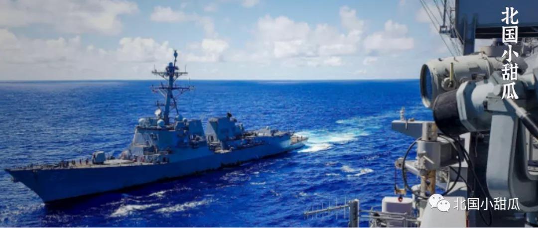 美军舰逼近长江口后 航母又进南海!这桩尘封72年的往事 藏不住了