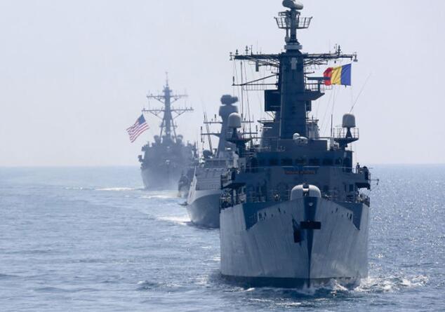 """美国将军出要让俄罗斯在黑海""""烦躁起来"""""""
