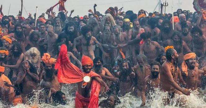 百万教徒恒河挑战病毒,印度背后的秘密