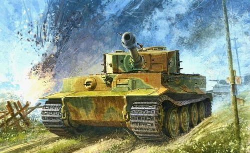 为什么虎式坦克采用落后的垂直装甲?设计师有话说