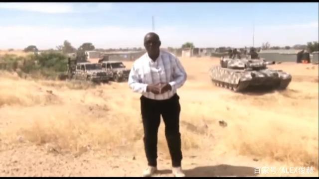 尼日利亚军行动:全是国产装备,VT4主战坦克,轮式105毫米炮登场