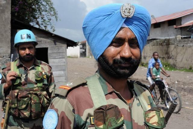 印军为什么在战场上也戴头巾?难道头巾还能防弹?