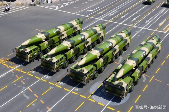 """台名嘴""""赞不绝口""""东风-26导弹有何""""独门绝技"""""""