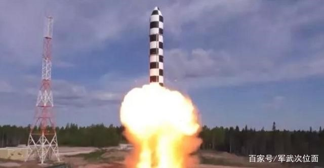 撒旦接班人,俄军试射新一代洲际导弹,射程优势美国难拦截