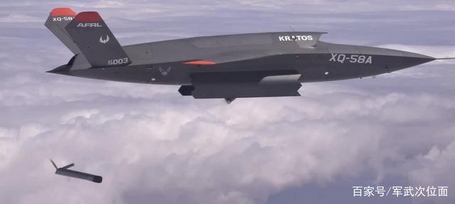 首次披露!美军展示隐身无人机投射武器画面,威胁不容忽视