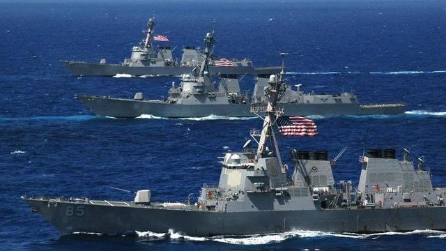 30 Russian fighters ran to the Black Sea with live ammunition: the US Aegis warship must be withdrawn immediately!