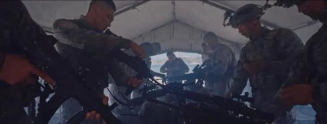 解放军同时更换3款轻武器,以前从来没见过,以后火力更凶猛!